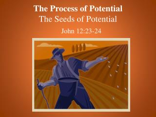 The Process of Potential The Seeds of Potential