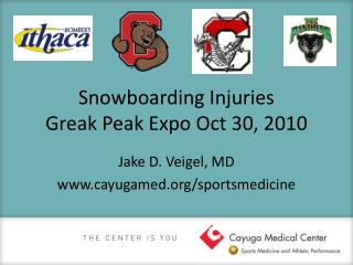 Snowboarding Injuries Greak Peak Expo Oct 30, 2010
