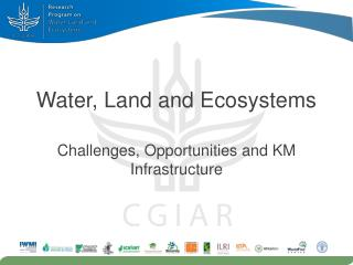 Water, Land and Ecosystems