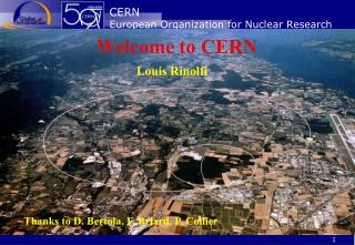CERN European Organization for Nuclear Research