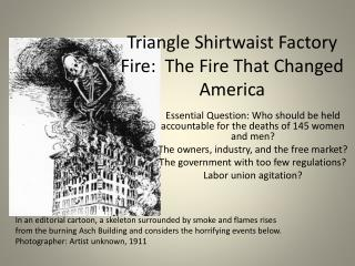 Triangle Shirtwaist Factory Fire:  The Fire That Changed America