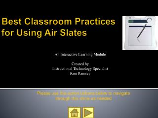 Best Classroom Practices for Using Air Slates