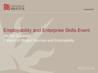 Employability and Enterprise Skills Event