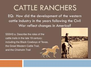Cattle ranchers