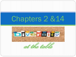 Chapters 2 &14