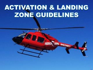 Activation & Landing Zone Guidelines