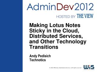 Andy Pedisich Technotics