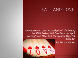 Fate and Love