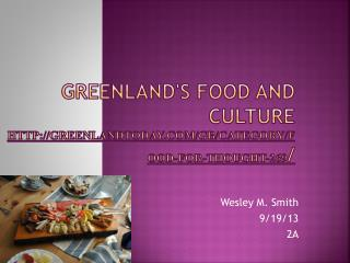 Greenland's food and culture greenlandtoday/gb/category/food-for-thought-269 /