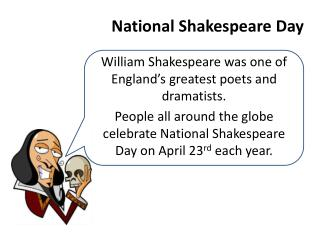 National Shakespeare Day
