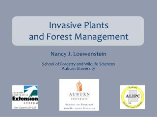 Invasive Plants  and Forest Management