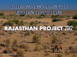 RAJASTHAN PROJECT  2012