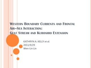 Western Boundary Currents and Frontal Air–Sea Interaction:  Gulf Stream and  Kuroshio Extension
