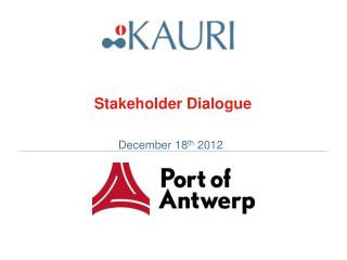 Stakeholder Dialogue