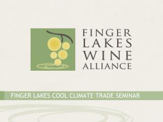 Finger Lakes Cool Climate Trade Seminar