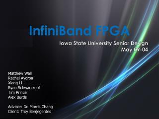 InfiniBand FPGA