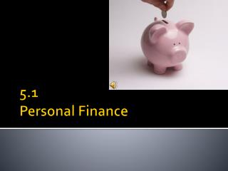 5.1 Personal Finance
