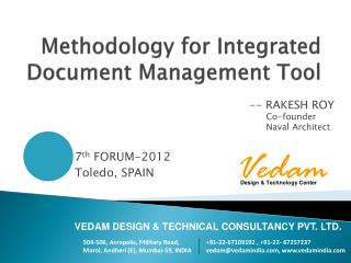 Methodology  for Integrated Document Management Tool