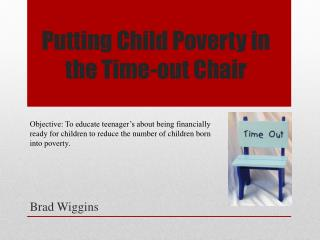 Putting Child Poverty in the Time-out Chair