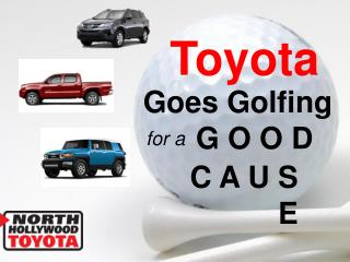 Toyota Goes Golfing for a Good Cause