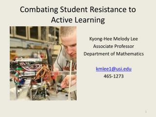 Combating Student Resistance to Active Learning