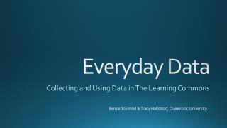 Everyday Data