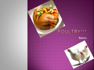 Poultry!!!