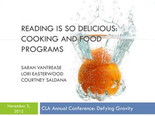 CLA Annual Conference: Defying Gravity