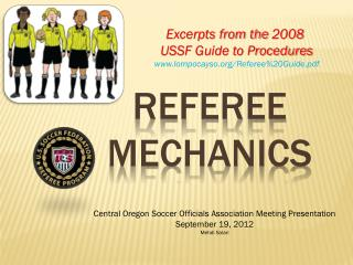REFEREE   MECHANICS