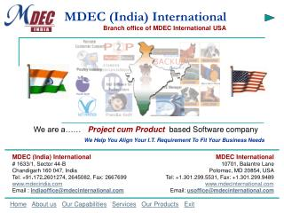 MDEC (India) International