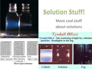 Solution Stuff!