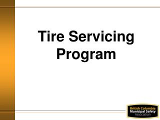 Tire Servicing Program