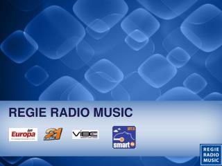 REGIE RADIO MUSIC