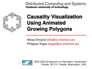 Causality Visualization Using Animated Growing Polygons