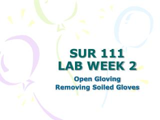 SUR 111 LAB WEEK 2