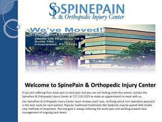 Orthopedic Injury Clearwater