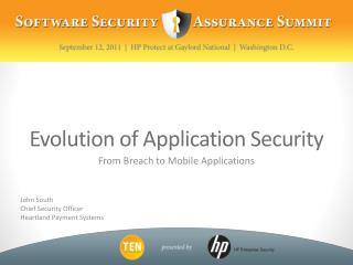 Evolution of Application Security
