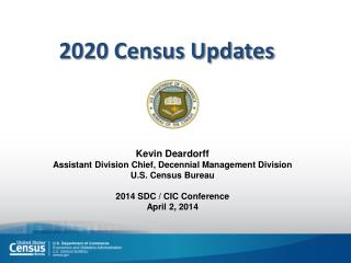 2020 Census Updates