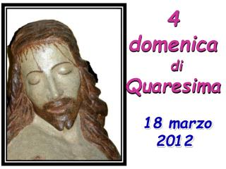 4 domenica di  Quaresima