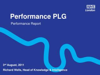 Performance PLG