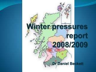 Winter pressures report  2008/2009