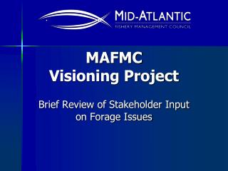 MAFMC  Visioning Project