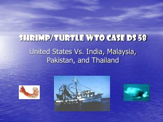 Shrimp/Turtle WTO case DS 58