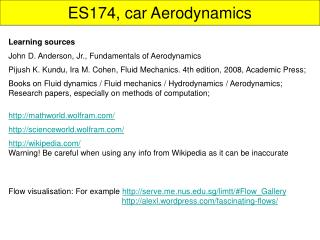 ES174, car Aerodynamics