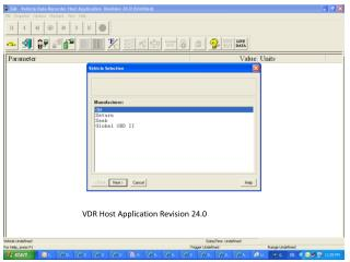 VDR Host Application Revision 24.0