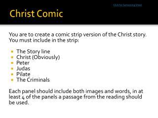 Christ Comic