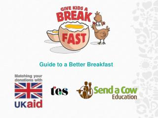 Guide to a Better Breakfast