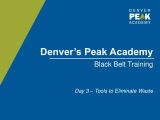 Denver's Peak Academy