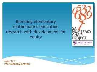 Blending elementary mathematics education research with development for equity