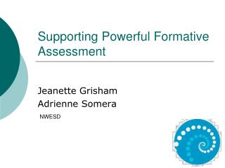 Supporting Powerful Formative Assessment